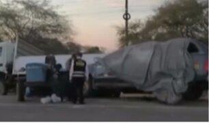 Cuerpos de voluntarios de ONG fallecidos en accidente son trasladados a la morgue