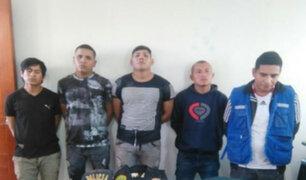 Capturan a presuntos extorsionadores que operaban en Puente Piedra