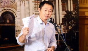 Congresistas se pronuncian sobre actitud de Kenji Fujimori frente a Fuerza Popular