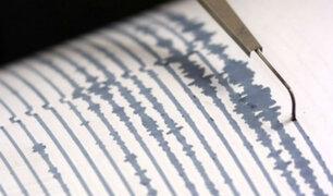 Huancavelica: sismo de magnitud 4.9 se registró en provincia de Castrovirreyna