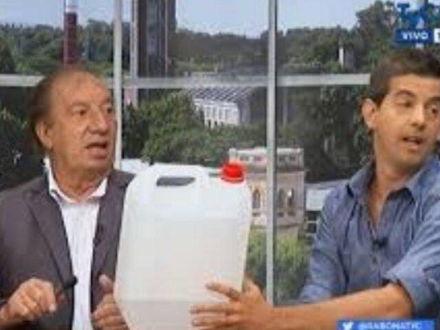 """El """"Bidón de Branco"""" en el Argentina vs. Brasil de Italia 90'"""