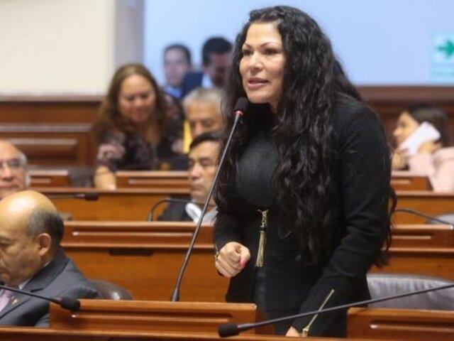 Yesenia Ponce: aprueban levantarle inmunidad parlamentaria