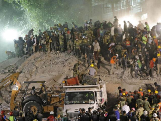 La solidaridad se hace sentir con fuerza tras terremoto en México