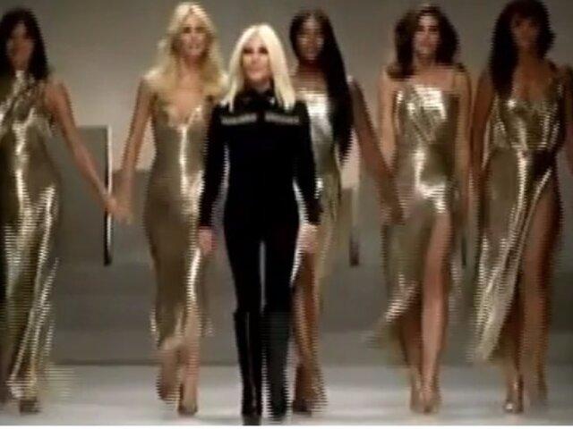 Las top models más famosas homenajearon al diseñador 'Gianni Versace' tras su muerte