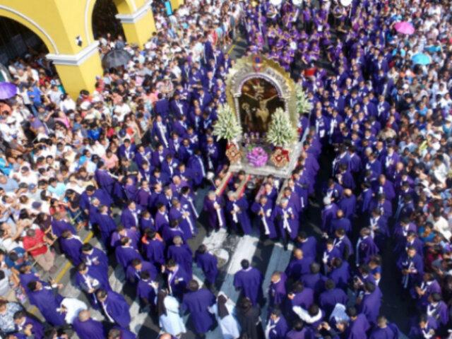 Señor de los Milagros: sagrada imagen no saldrá en procesión por Semana Santa