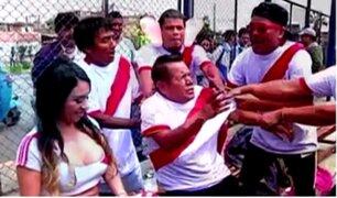 Perú vs. Argentina: cómicos ambulantes adelantan choque en 'La Bombonera'