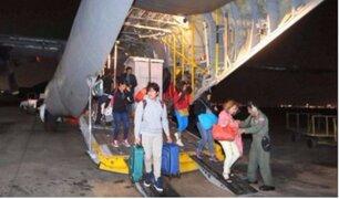 Sanos y salvos: llegan al Perú los peruanos afectados por huracán María en Puerto Rico