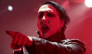 Marilyn Manson  es hospitalizado tras accidente durante concierto