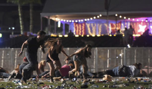EEUU: tiroteo en Las Vegas deja al menos 50 muertos y más de 200 heridos