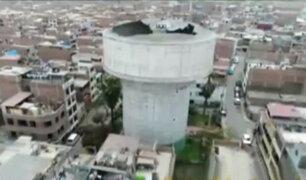 Carmen de la Legua: vecinos temen que pozo de agua caiga sobre sus viviendas