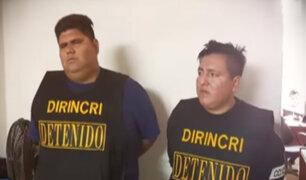 """San Martín de Porres: capturan a banda los """"rápidos y furiosos"""" del cono norte"""