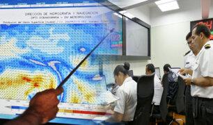 Callao: Marina de Guerra se prepara ante un eventual tsunami de gran magnitud
