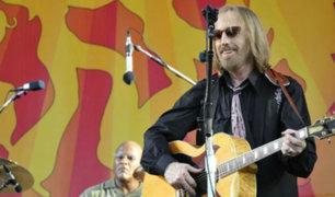 EEUU: Muere Tom Petty a los 66 años tras ataque cardiaco