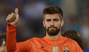 España: Piqué fue insultado y abucheado por su apoyo a Cataluña