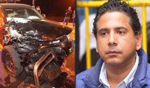 Caso accidente en Costa Verde: Poder Judicial da libertad a Guillermo Riera