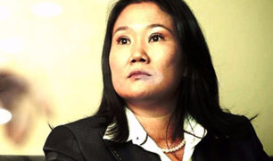 Fiscalía ordenó el levantamiento de secreto bancario de Keiko Fujimori y su esposo