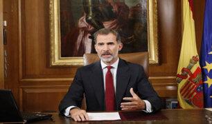 Rey Felipe VI: Autoridades de Cataluña han socavado la convivencia en España