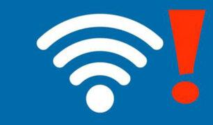 OMS advierte que el WiFi podría ser nocivo para la salud