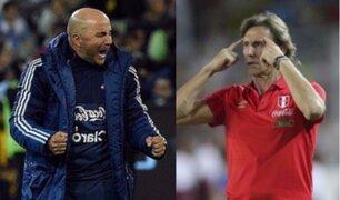 Conoce el perfil de Gareca y Sampaoli antes del Perú vs. Argentina