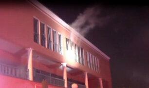 """La Molina: reportan incendio en librería de centro comercial """"La Fontana"""""""