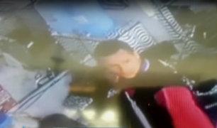 Huaycán: hombre robó 1400 soles de un spa en menos de un minuto