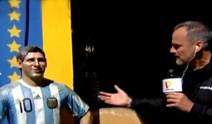 Perú vs. Argentina: Panamericana Televisión recorrió histórico barrio de La Boca