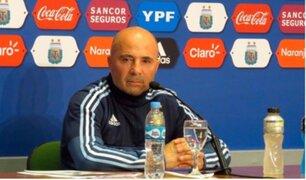 """Perú vs. Argentina: Sampaoli asegura que la bicolor es un """"equipo consolidado"""""""