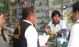 Lurín: intervienen farmacias que funcionaban sin licencia