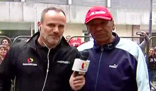 Julio Meléndez también estará en La Bombonera alentando a Perú