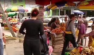 Ate: ambulantes informales invaden calles del distrito