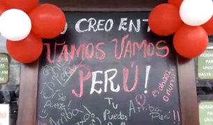 Perú vs. Argentina: Estudiantes también se pusieron la camiseta y apoyan así a la selección [VIDEO]