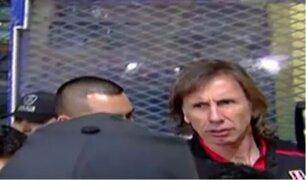 Así fue la salida de la Selección Peruana de La Bombonera