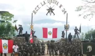 Militares y Policías se suman a los mensajes de aliento a la Selección Peruana