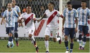 Así fue el partido Perú-Argentina por las Eliminatorias Rusia 2018