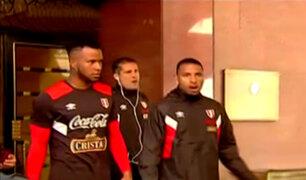 Selección peruana rumbo a última práctica antes de regresar a Lima