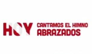 Selección Peruana pide a las personas cantar el Himno Nacional abrazados