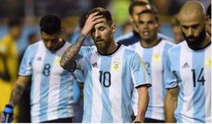 ¡Argentina vive drama por empate ante Perú! su clasificación pende ahora de un hilo