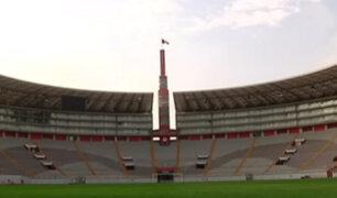Gramado del Estadio Nacional se encuentra listo para el partido Perú vs. Colombia