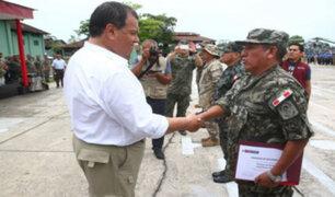 Ministro Nieto destaca acción cívica de las FFAA en la Amazonía