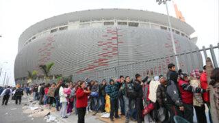Perú vs. Colombia:  restringen acceso vehicular al Estadio Nacional
