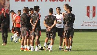 Selección peruana llegó al Estadio Nacional para iniciar entrenamientos