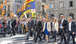 España: presidente catalán asegura que declarará la independencia de Cataluña