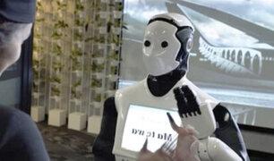 Australia: usan robots sociales en el aeropuerto de Sídney
