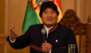 Bolivia: miles protestan por reelección de Evo Morales
