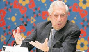 """Rusia: Mario Vargas Llosa se califica como """"Mal político"""""""
