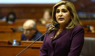 Congresistas fujimoristas reaccionan a polémicas declaraciones de Maritza García
