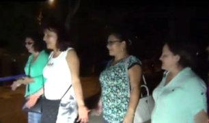 Tarapoto: familia quedó atrapada en cementerio por más de cuatro horas
