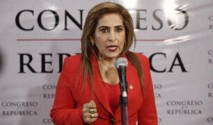 Maritza García renuncia a la presidencia de la Comisión de la Mujer del Congreso