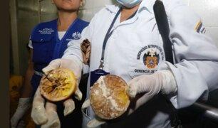 Clausuran panaderías donde preparaban turrones con ingredientes en descomposición