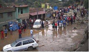 Pobladores de Chosica exigieron que se ejecute obras de prevención y se reconstruya zonas afectadas